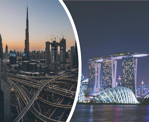 جعل دولة الإمارات العربية المتحدة وجهة للتعليم العالي والبحوث
